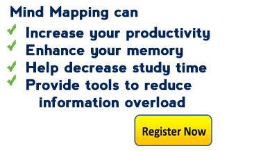 MindMapping Can Increase Your Productivity, Enhance Your Memory, Help Decrease Study Time, Register Now!